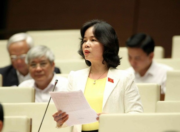 14th NA discusses revised Law on Education hinh anh 1
