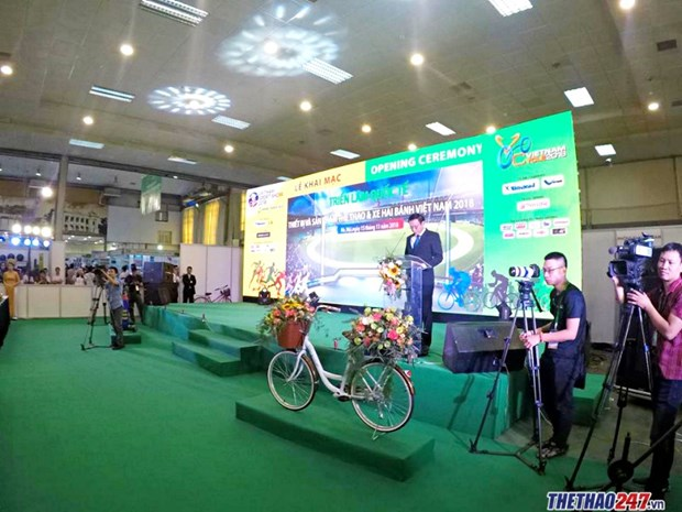 Vietnam Cycle 2018 introduces latest motorbike, bicycle models hinh anh 1