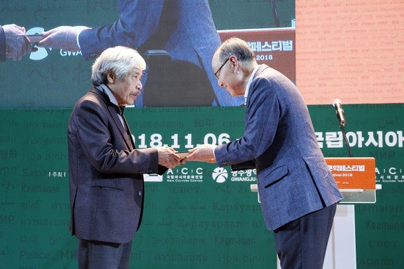 Vietnamese novel about war wins Asia Literature Award 2018 hinh anh 1