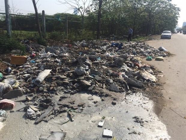 Hanoi waste collection faces challenges hinh anh 1