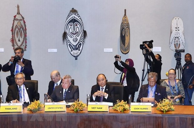 PM begins activities at APEC Economic Leaders' Week hinh anh 1