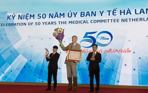 Medical Committee Netherlands-Vietnam marks 50th founding anniversary hinh anh 1