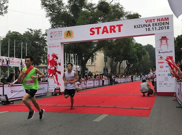 Run for Traffic Safety marks Vietnam – Japan relations hinh anh 1