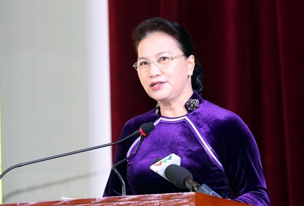 NA Chairwoman attends ceremony marking teachers' day hinh anh 1
