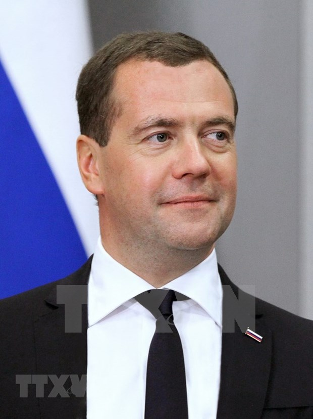 Russian Prime Minister begins official visit to Vietnam hinh anh 1