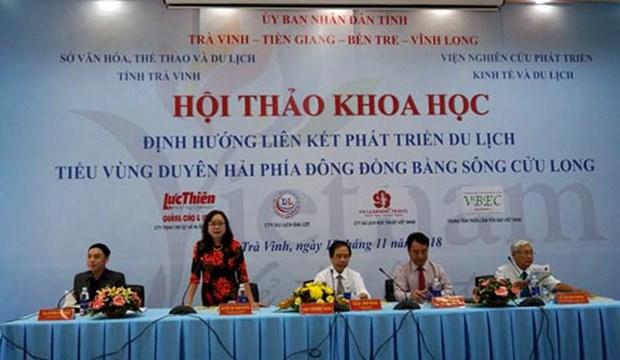 Mekong Delta's eastern coastal sub-region boasts huge potential for tourism hinh anh 1