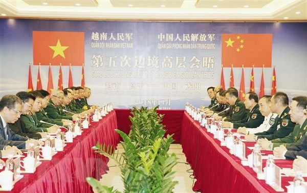 Vietnam, China review five years of border defence friendship exchange hinh anh 1