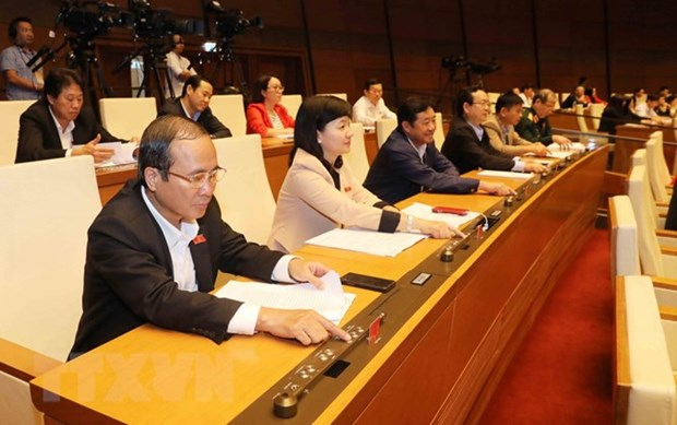 National Assembly adopts five laws hinh anh 1