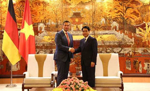 Hanoi welcomes German investment: municipal leader hinh anh 1
