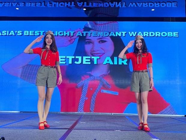 Vietjet uniforms soar above the rest hinh anh 1