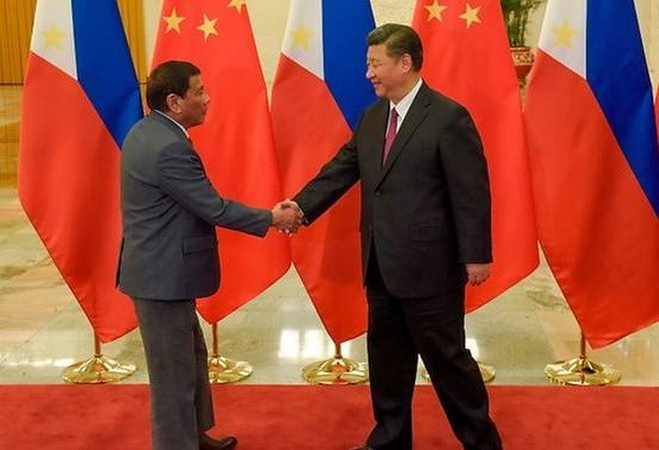 Chinese President begins State visit to Philippines hinh anh 1