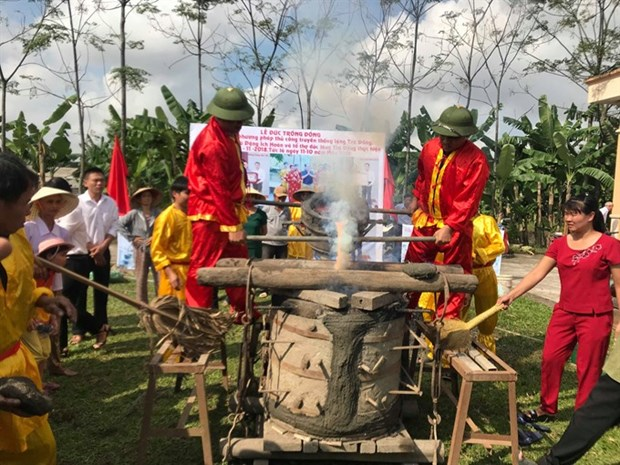 Traditional trade of bronze casting receives National Heritage title hinh anh 1