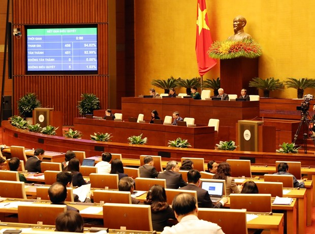 National Assembly enters last working day of 6th session hinh anh 1