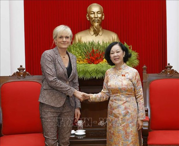 Party official: Vietnam prioritises developing ties with Germany hinh anh 1
