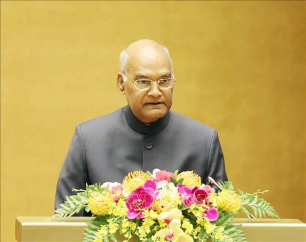 Friendship with Vietnam is special to India: Indian President hinh anh 1