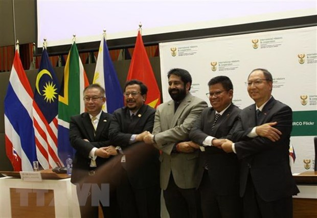 South Africa marks 25 years of diplomatic ties with four ASEAN nations hinh anh 1