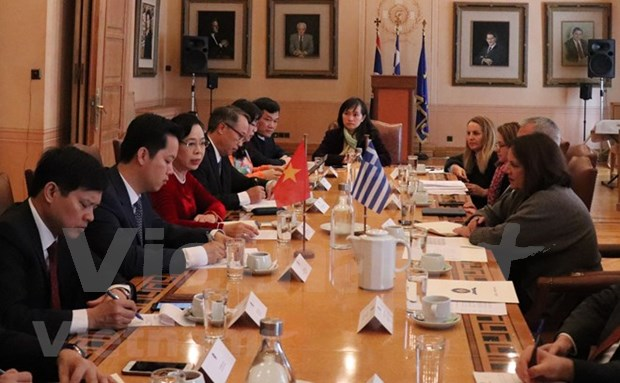 Hanoi, Athens seek closer ties in cultural heritage management hinh anh 1