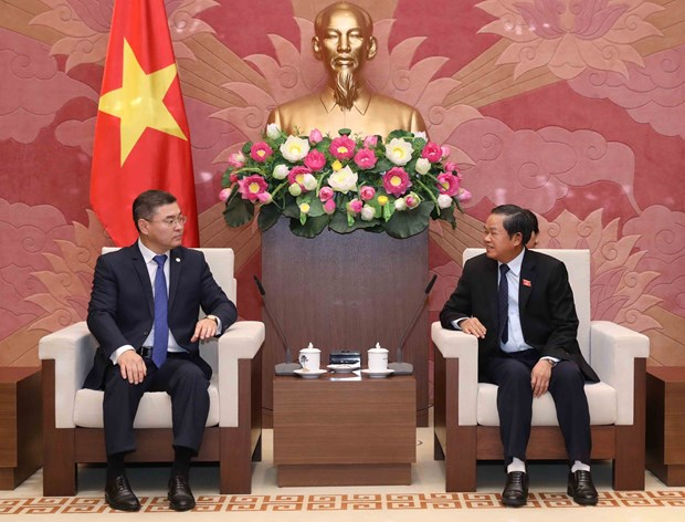 NA supports ties between CPV, Kazakhstan's Nur Otan Party hinh anh 1