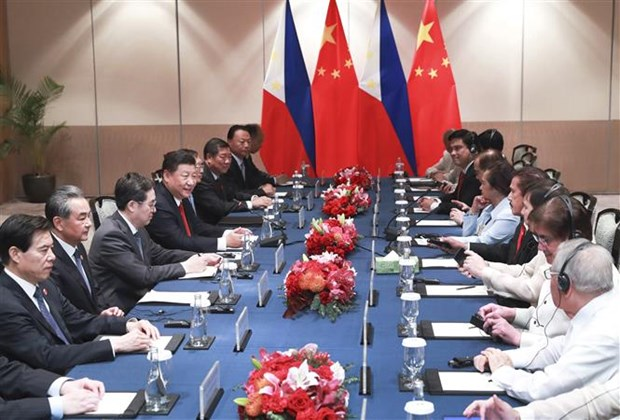 Philippines, China agree to step up legislative exchanges hinh anh 1