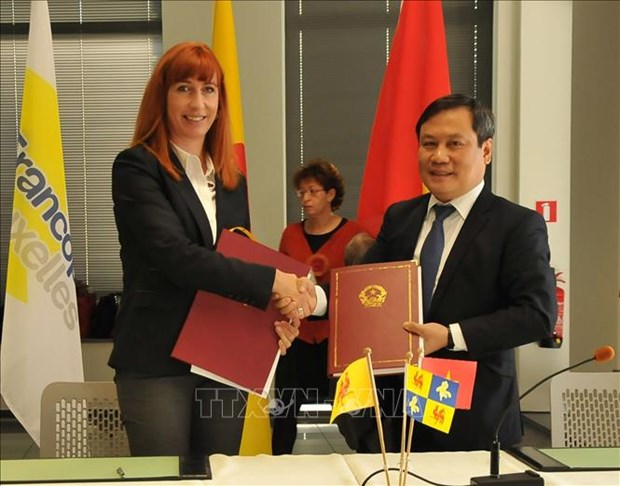 Vietnam, Belgium's Wallonie-Bruxelles expand cooperation hinh anh 1