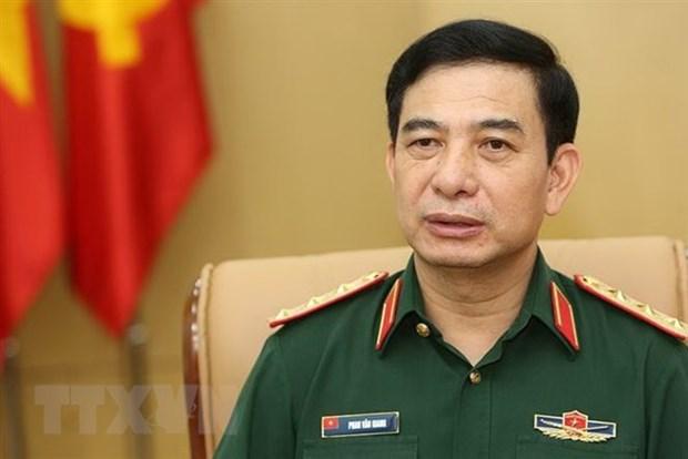 High-ranking Vietnamese military delegation visits Thailand hinh anh 1