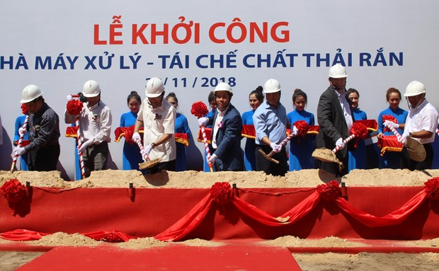 Work begins on waste-to-energy plant in HCM City hinh anh 1
