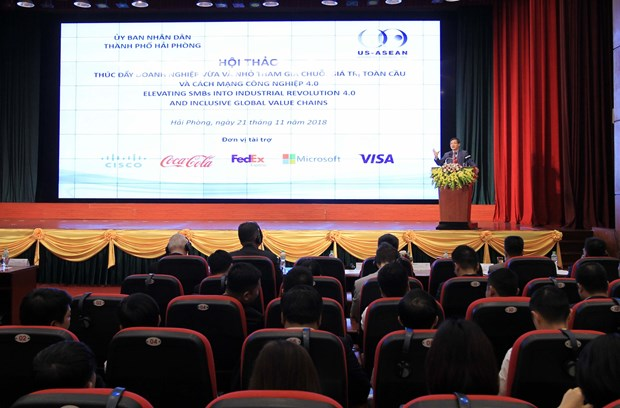 Workshop looks to boost SMEs' participation in Industry 4.0 hinh anh 1