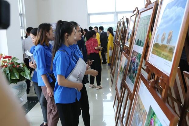 ASEAN photo, documentary exhibition opens in Hoa Binh hinh anh 1