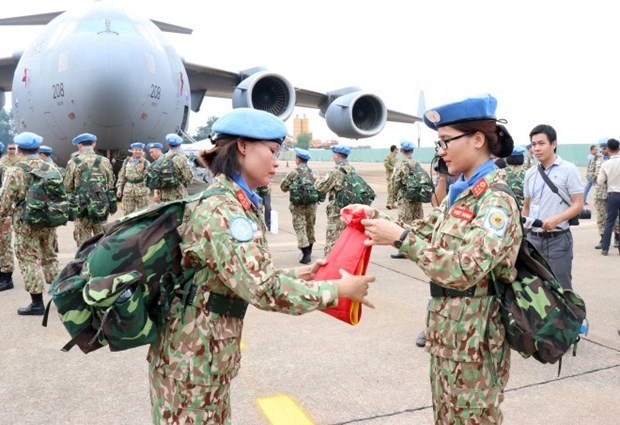 UNDP pledges to help Vietnam in peacekeeping operations hinh anh 1