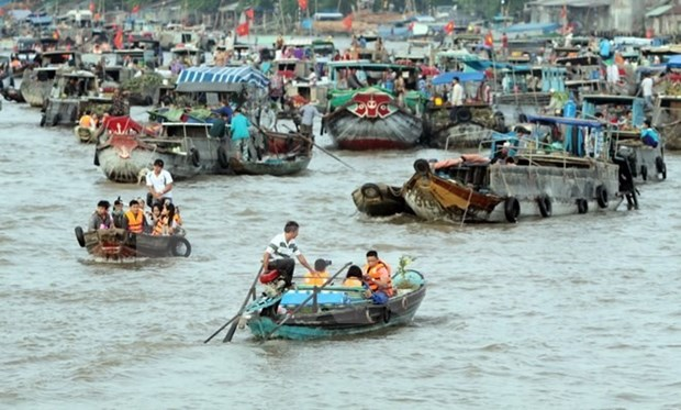 Floating markets among best photogenic destination hinh anh 1