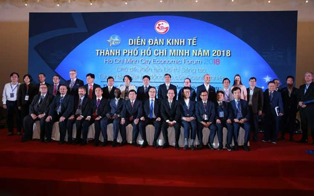 HCM City economic forum talks firms' role in building innovative districts hinh anh 1