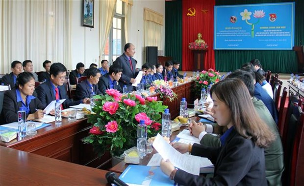 Son La youths bolster cooperation with Lao localities hinh anh 1
