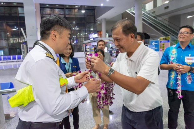 Southern Thai province welcomes inaugural flight from Kunming hinh anh 1