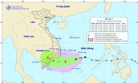 Typhoon Usagi heads to south central Vietnam hinh anh 1