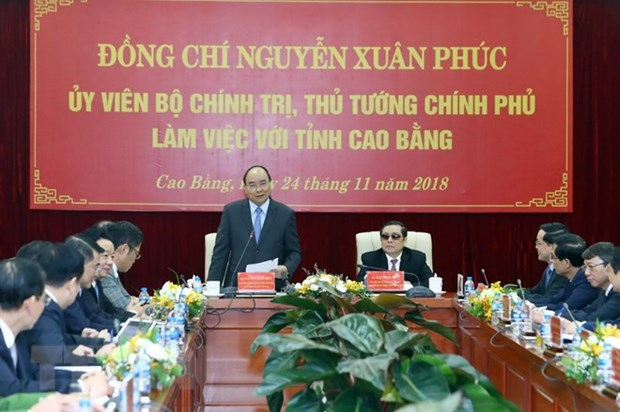 Cao Bang urged to seek breakthrough measures for development hinh anh 1