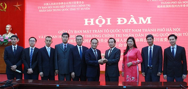 Hanoi enhances relations with China's Sichuan province hinh anh 1