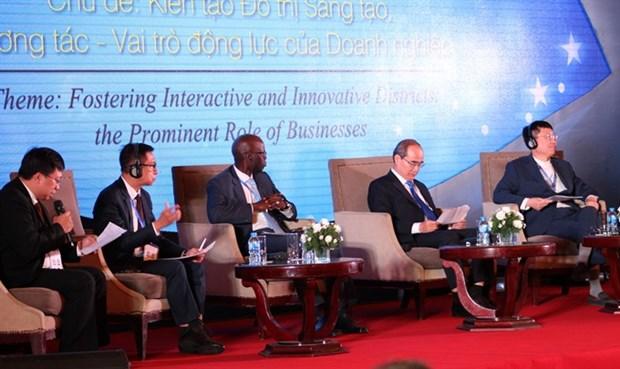 HCM City economic forum focuses on innovative urban area hinh anh 1