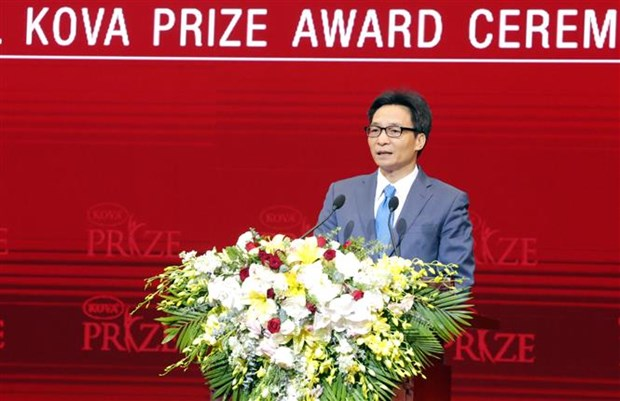 KOVA Prize 2018 honours groups, individuals in applied science hinh anh 1