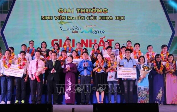 Winners of 2018 Eureka scientific research awards honoured hinh anh 1