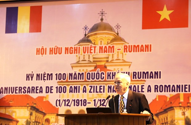 Romania's National Day marked in Hanoi hinh anh 1