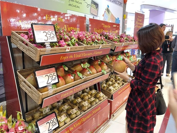 Vietnamese goods increase presence in Singapore hinh anh 1
