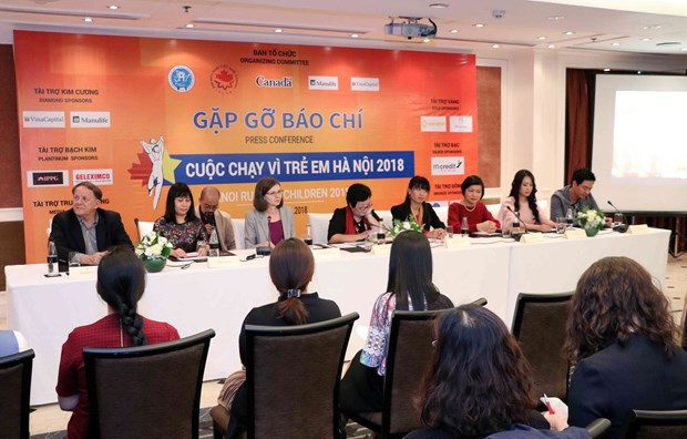 Hanoi Run for Children 2018 to be held in early December hinh anh 1