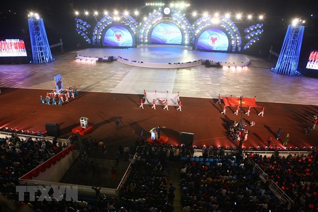 8th National Sports Games kicks off in Hanoi hinh anh 1
