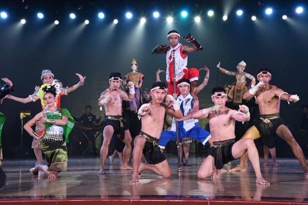 Thai folk performances on stage in China hinh anh 1