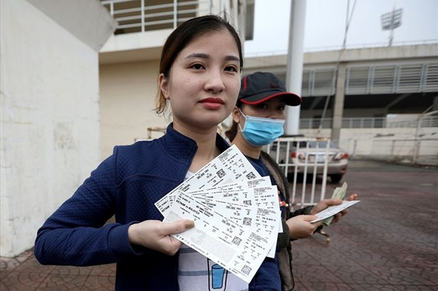 Tickets of Vietnam's semi-final match to sell online hinh anh 1