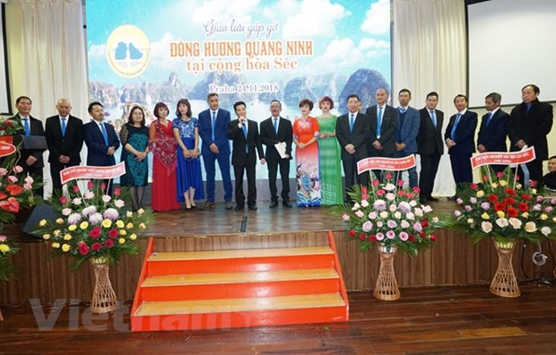 Quang Ninh fellow countrymen association debuts in Czech hinh anh 1