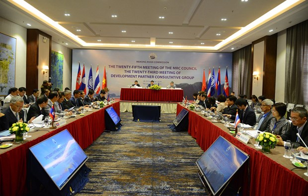 25th meeting of Mekong Council reviews work on river hinh anh 1