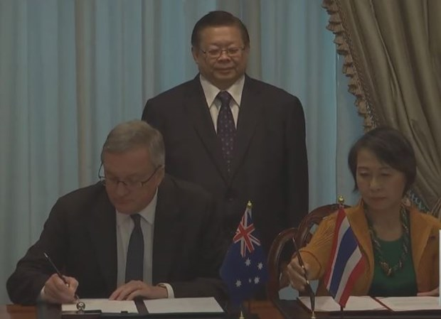 Thailand, Australia sign anti-human trafficking agreement hinh anh 1