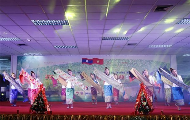 Lao National Day marked in Hanoi hinh anh 1