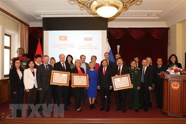 Friendship Order bestowed upon Russian universities hinh anh 1